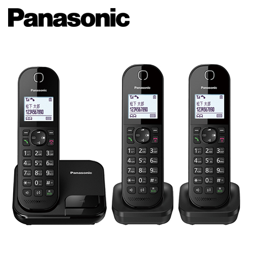 【Panasonic 國際牌】數位無線三子機 KX-TGC283