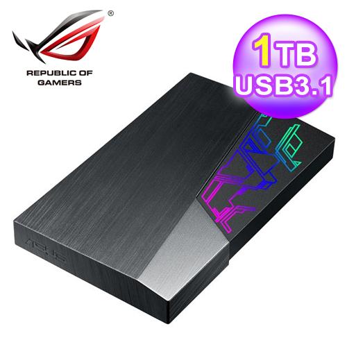 ASUS FX HDD 1TB ROG 2.5吋外接式硬碟 (EHD-A1T)