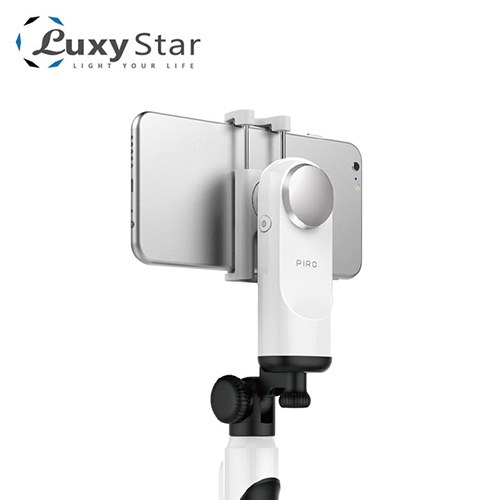 【Luxy Star 樂視達】piro mini 口袋型美拍穩定器 時尚白
