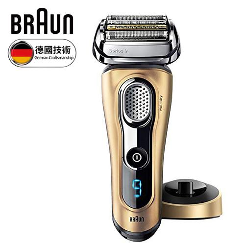德國百靈 BRAUN|9系列音波電鬍刀 9299s 榮耀金