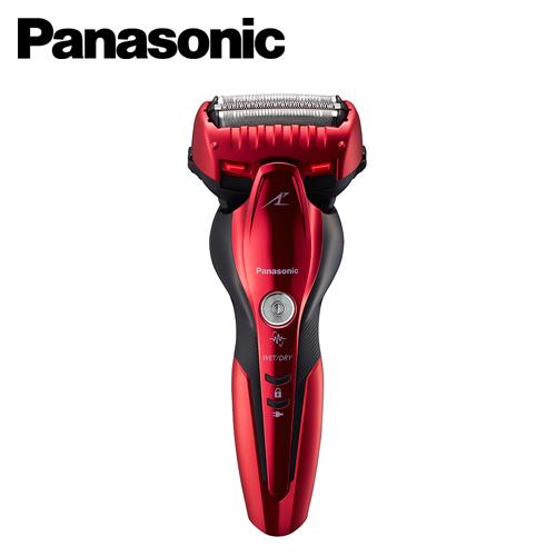 【Panasonic  國際牌】三刀頭水洗電動刮鬍刀 ES-ST6Q-R(紅)