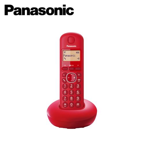 【Panasonic 國際牌】DECT 數位式無線電話 KX-TGB210 紅色