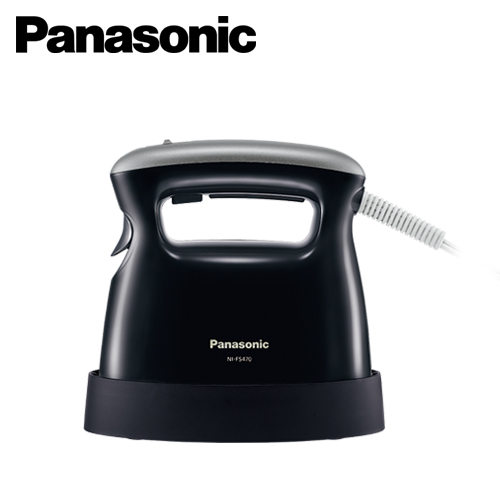 Panasonic 國際牌 2合1蒸氣電熨斗 黑色 NI-FS470K