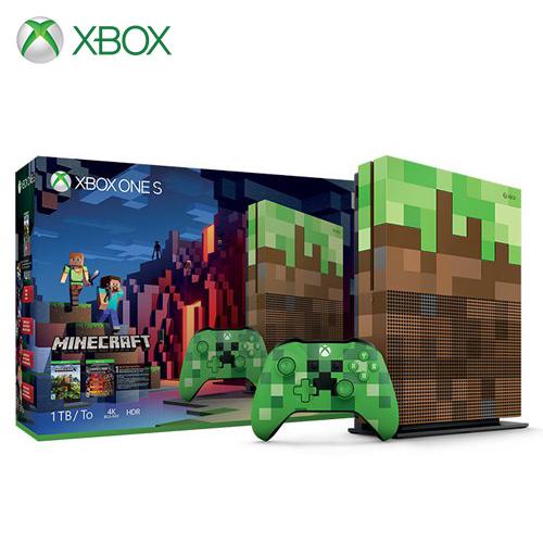 Microsoft 微軟|XBOX One S 1TB (Minecraft 我的世界) 同捆組