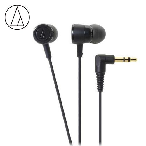 【audio-technica 鐵三角】ATH-CKL220 耳塞式耳機 黑色