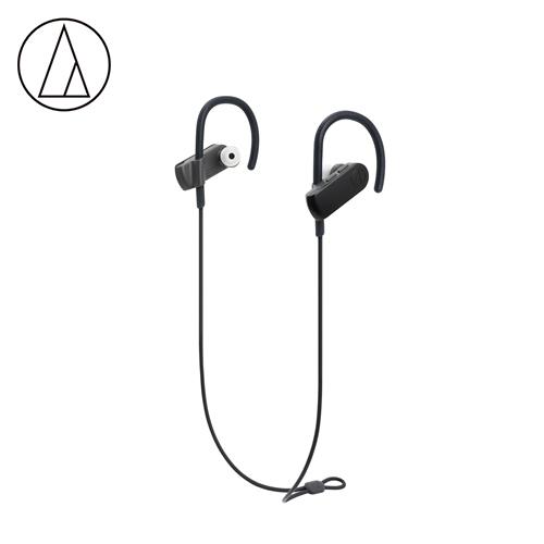 【audio-technica 鐵三角】ATH-SPORT50BT 無線運動耳機 黑色