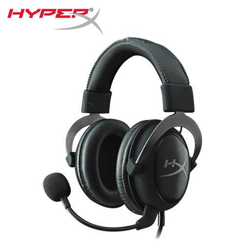 【HyperX】CLOUD II 電競耳機-金屬灰[KHX-HSCP-GM]