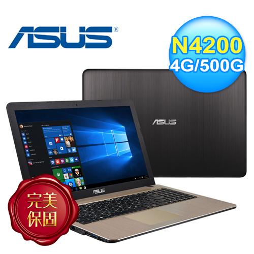 ASUS 華碩 X540NV-0021AN4200 15.6吋筆電 經典黑