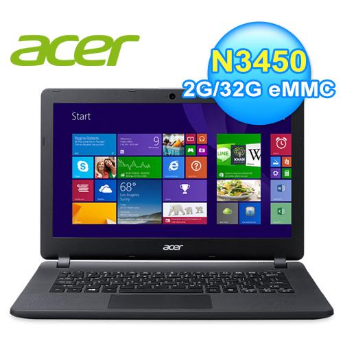 Acer ES1-332-COMM 13.3吋Intel四核心Win10超值文書筆電