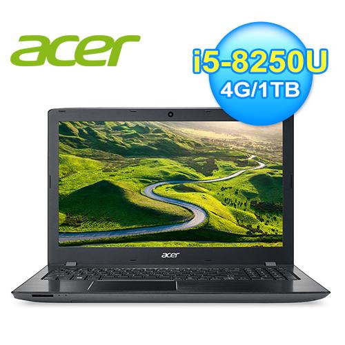 Acer 宏碁 Aspire E 15.6吋 FHD 時尚效能筆電 經典黑 E5-576G-54T6