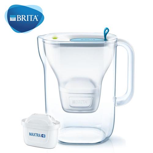 【德國 BRITA】Style 3.6L 純淨濾水壺-藍色(內含MAXTRA +全效濾芯1入)