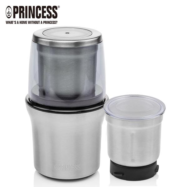 【PRINCESS|荷蘭公主】不鏽鋼乾溼研磨機/附防噴蓋 221030
