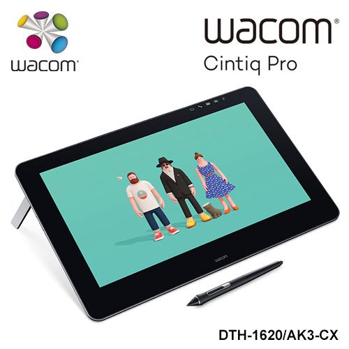 【客訂品】Wacom Cintiq Pro 16HD touch 觸控繪圖螢幕(HDMI版)