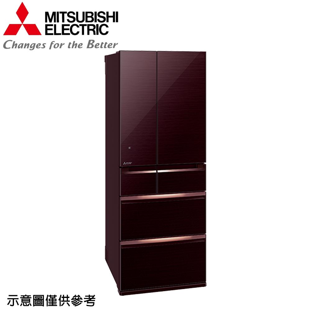 【MITSUBISHI 三菱】605公升日本原裝變頻六門冰箱MR-WX61C-BR