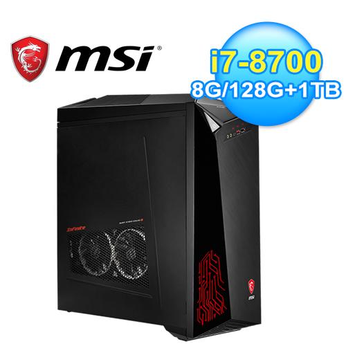 【MSI 微星】Infinite A 8RC-221TW 無極限電競桌機