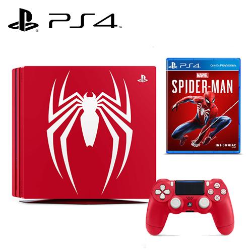 PS4 PRO 漫威蜘蛛人 特仕主機同梱組