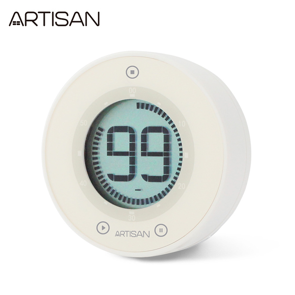 【ARTISAN|奧的思】 iZu計時器/白 T01W