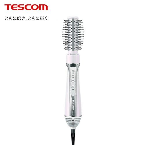【TESCOM】自動電壓椿油造型整髮梳 白色(TIC6JTW)