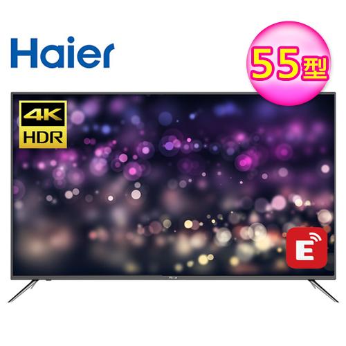 【Haier 海爾】55型 4K HDR 智慧連網顯示器 視訊卡(55K6000U)