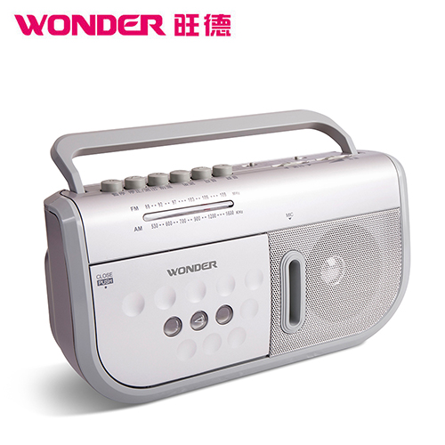 【WONDER 旺德】手提式收錄音機(WD-6203)