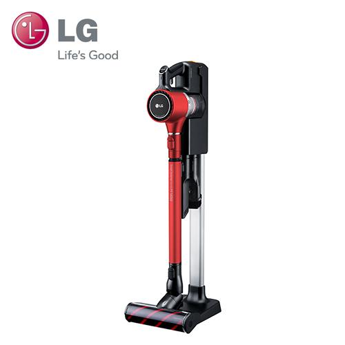 【LG 樂金】CordZero A9+ 手持無線吸塵器 時尚紅 (A9PBED2R)