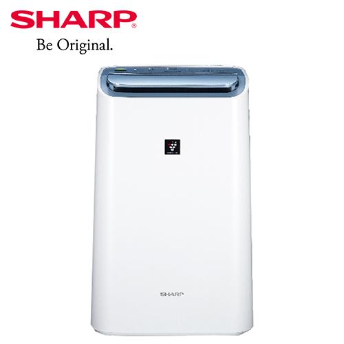 夜殺【SHARP 夏普】10.5公升 自動除菌離子清淨除濕機 DW-H10FT-W