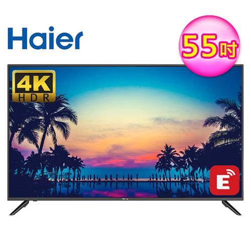 【Haier 海爾】55型4K HDR液晶智慧顯示器+視訊卡(55K6500U)