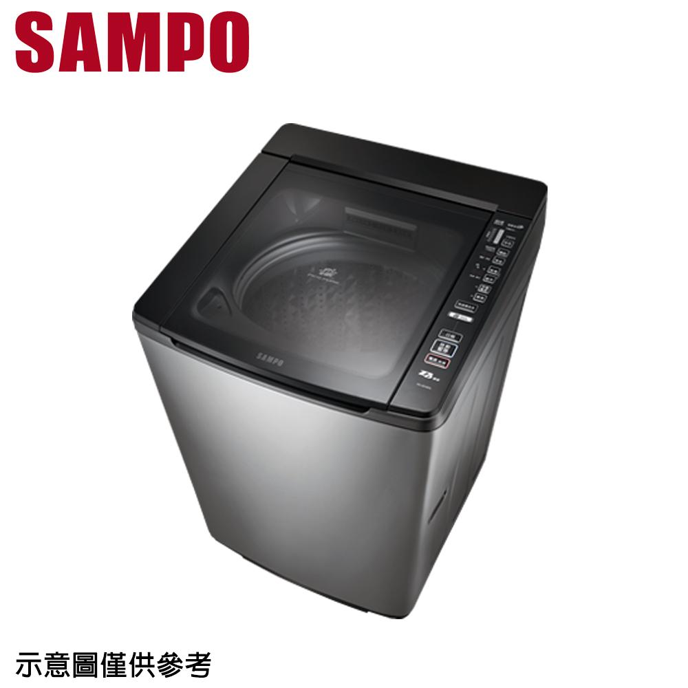 【SAMPO 聲寶】16公斤變頻洗衣機ES-JD16PS(S1)