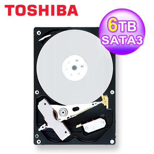 【TOSHIBA】6TB 3.5吋 7200轉 硬碟 (MD04ACA600)