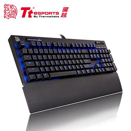 【Tt eSPORTS 曜越】海王星專業版 青軸機械鍵盤(NPP-TBBLUS-01)