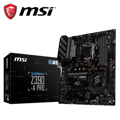 【MSI 微星】Z390-A PRO 主機板
