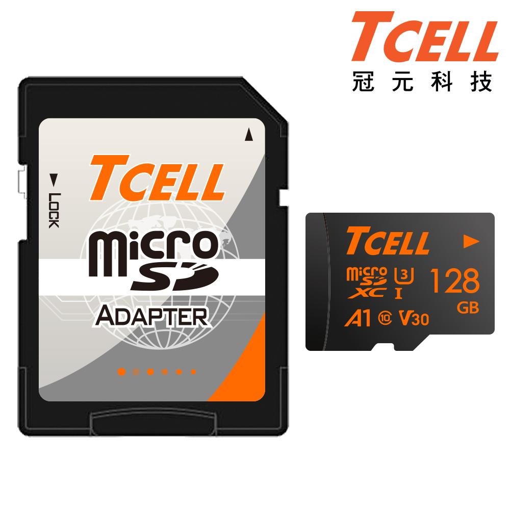 【TCELL 冠元】R100W TF U3-128G 附轉卡