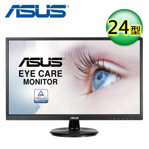 【ASUS 華碩】VA249HE 24型 Full HD 低藍光不閃屏液晶螢幕
