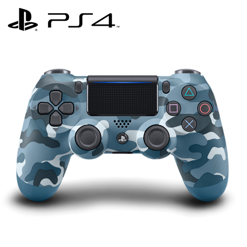 【SONY】PS4 DUALSHOCK 無線控制器 迷彩藍