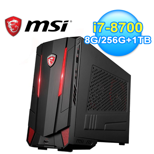 【MSI 微星】Nightblade MI3 8RC-002TW 電競桌上型電腦