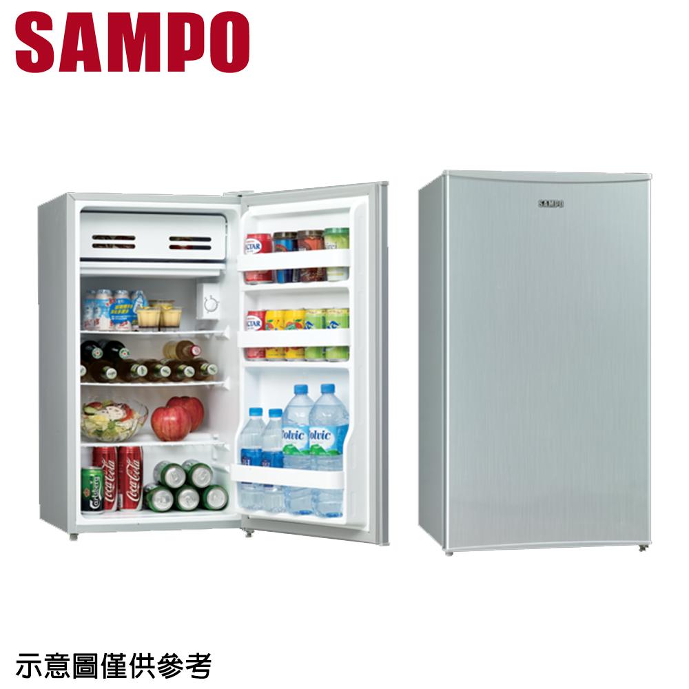 【SAMPO聲寶】95公升單門冰箱SR-A10(只送不裝)