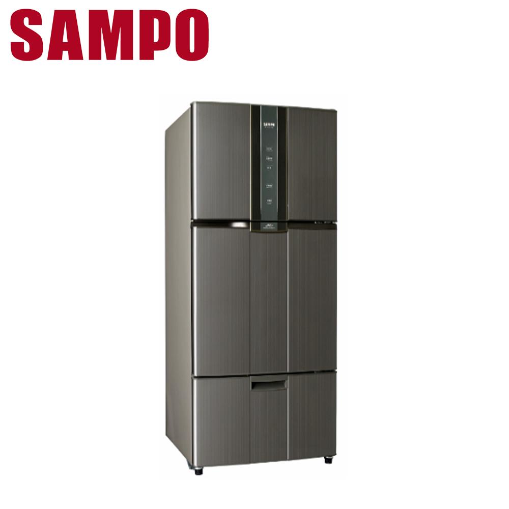 【SAMPO 聲寶】580公升變頻三門冰箱SR-A58DV(K2)