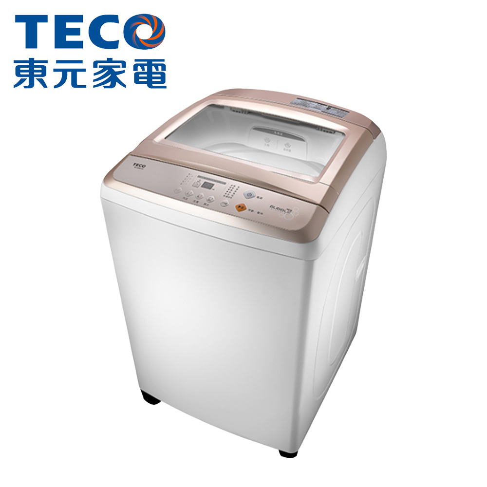 【TECO東元】13公斤定頻直立式洗衣機W1308UW