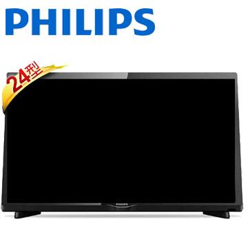 (含運無安裝)飛利浦24吋FHD顯示器+視訊盒24PFH4282