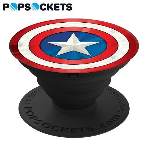 【PopSockets泡泡騷】美國隊長 美國時尚多功能手機支架 101772