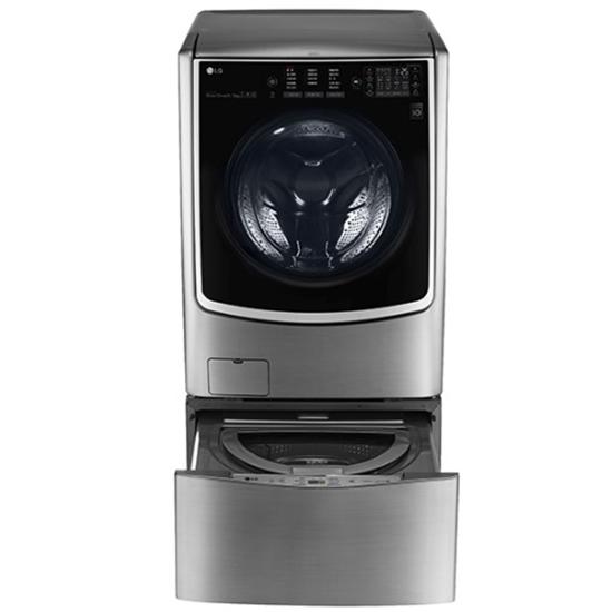 LG 滾筒洗脫烘-21KG+下層2.5KG洗衣機F2721HTTV+WT-D250HV