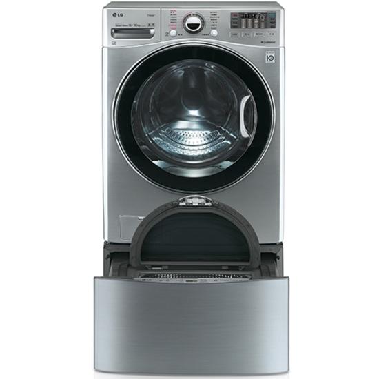 LG 滾筒洗脫烘-18KG+下層2.5KG洗衣機WD-S18VCD+WT-D250HV