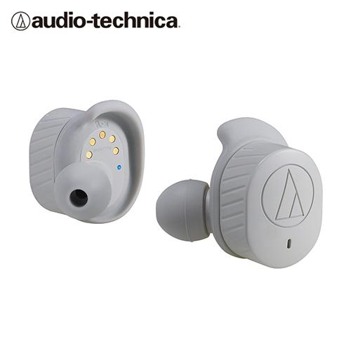 【audio-technica 鐵三角】ATH-SPORT7TW 真無線運動耳機 灰色