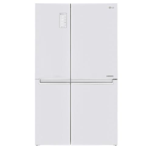 LG 821公升門中門對開-白冰箱GR-DL88W