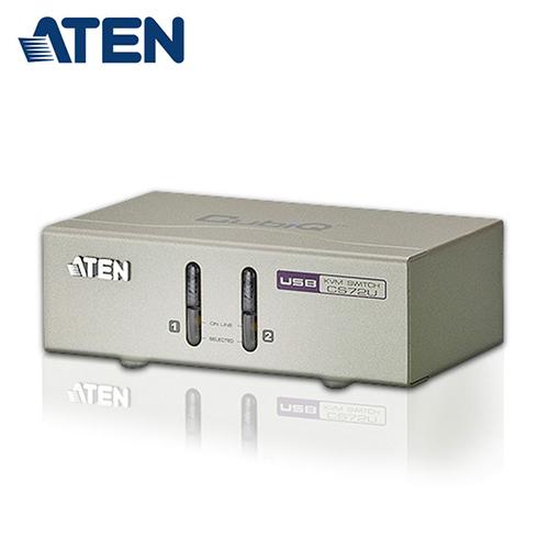 【ATEN 宏正】2埠 USB 多電腦切換器 (CS72U)