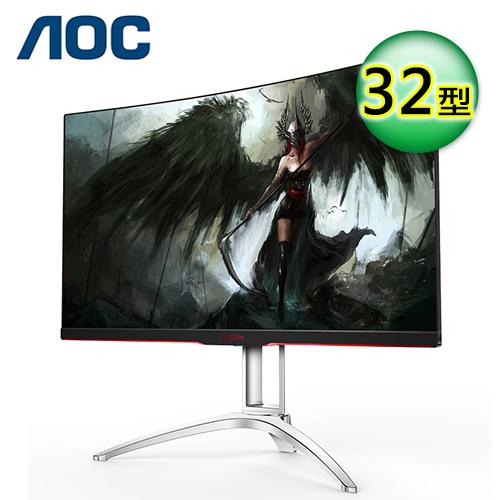 【AOC】AGON AG322QC4/96 32型 VA曲面 電競螢幕