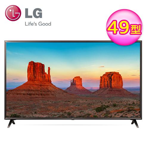 【LG 樂金】49型 IPS 4K 智慧聯網液晶電視(49UK6320PWE)