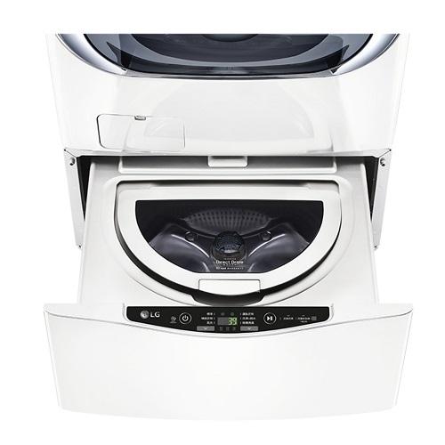 LG 白色,下層2.5KG洗衣機WT-D250HW