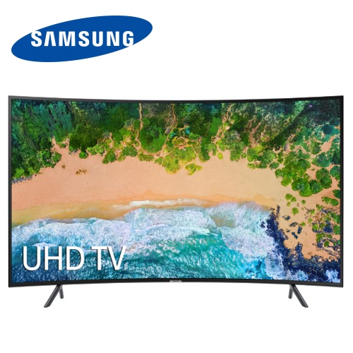 SAMSUNG三星55吋黃金曲面4K電視UA55NU7300WXZW