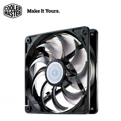 【Cooler Master 酷碼】SickleFlow X (Non LED) 12公分 9葉鐮刀扇 無光款